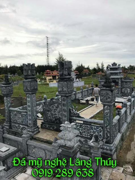 khu lăng mộ đá đẹp đá xanh ninh bình thanh hóa 2