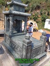 mộ đá xanh rêu sơn la